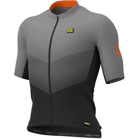 Alé Cycling Graphics PRR Delta Jersey Korte Mouwen Heren, black/grey/fluo orange